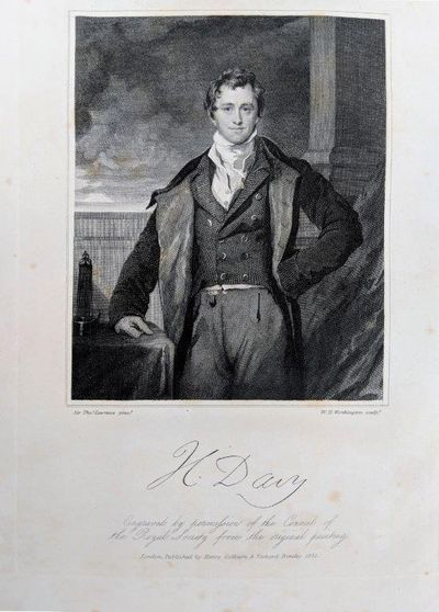 how did sir humphry davy discovered calcium