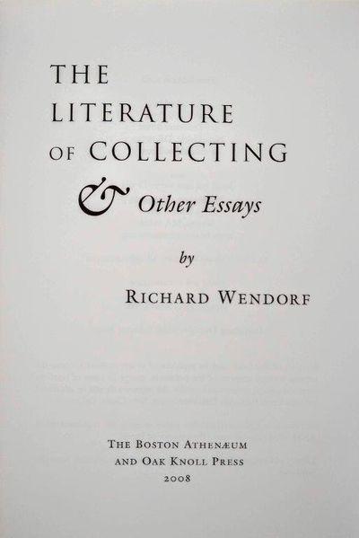 essays com literature