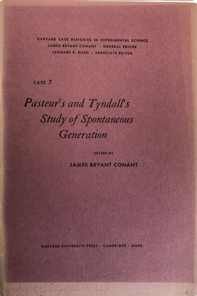Image for Pasteur's and Tyndall's study of spontaneous generation.