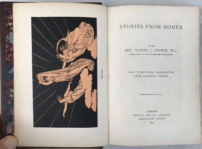 Image for Stories from Homer. With twenty-four illustrations from Flaxman's designs. Twenty-second thousand.