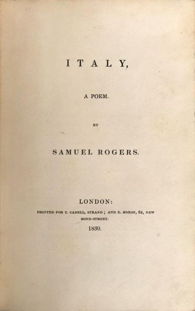 Image for Italy, a poem.