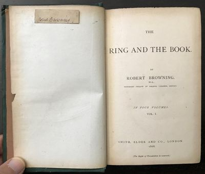 Image for The Ring and the Book.
