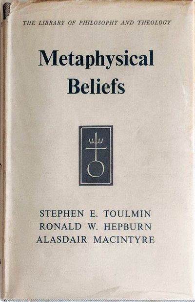 Image for Metaphysical Beliefs; Three Essays.