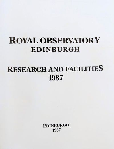 Image for Royal Observatory Edinburgh Research and Facilities.