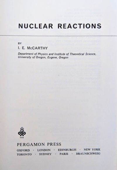 Image for Nuclear Reactions.