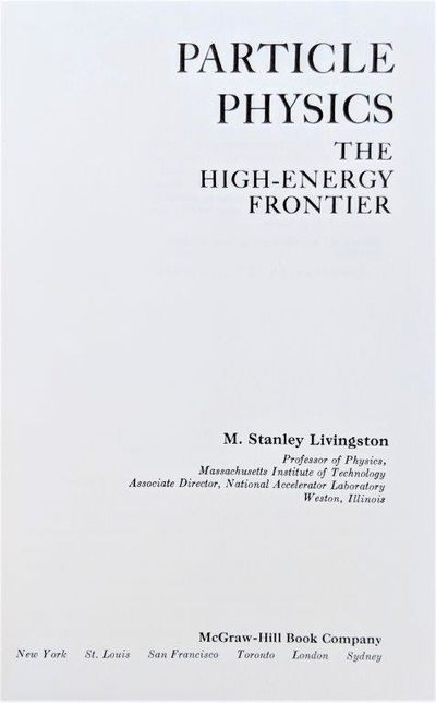 Image for Particle Physics, The High-Energy Frontier.