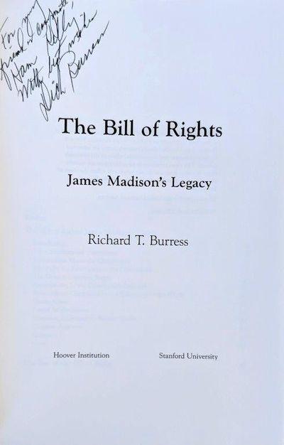 Image for The Bill of Rights, James Madison's Legacy.