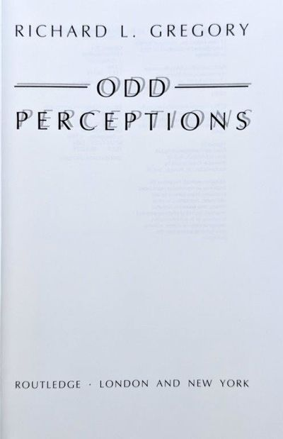 Image for Odd Perceptions.