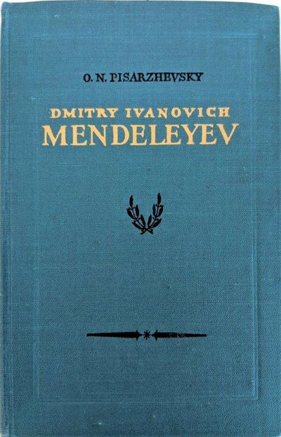 Image for Dmitry Ivanovich Mendeleyev; his life and work.