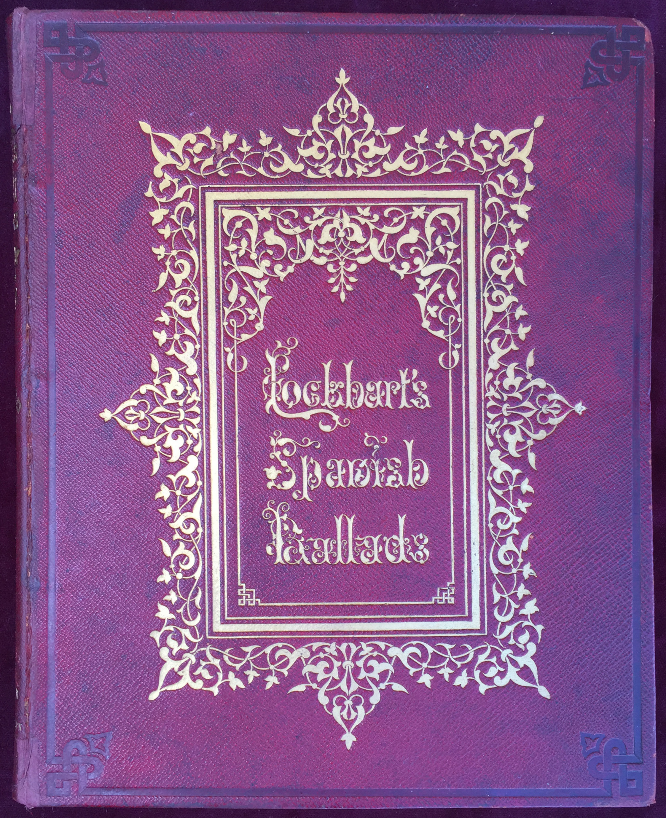Image for Ancient Spanish Ballads; Historical and Romantic. Translated, with notes, . . . a new edition, revised. With numerous illustrations from drawings by Williams Allan, David Roberts, William Simon, Henry Warren, C.E. Aubrey, and William Harvey. The borders and ornamental vignettes by Owen Jones, Architect.
