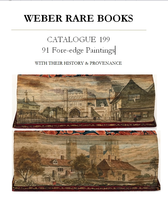 Catalogue 199: 91 Fore-edge Paintings